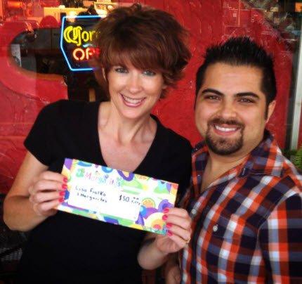 Lisa_Gift Card Winner 3 margarias
